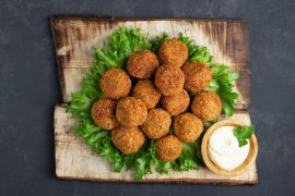 Vegetable Falafel