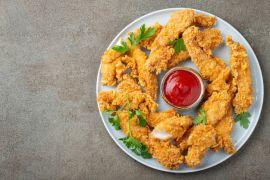 Breaded Chicken Fillets 35g